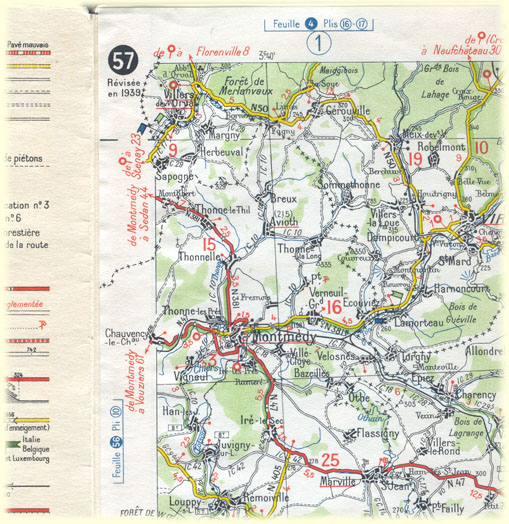 Michelin Map Of Germany.The Michelin Maps Of The Second World War