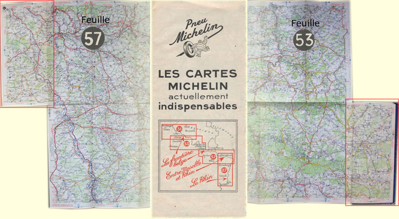 The Michelin Maps Of The Second World War