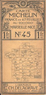 photo carte Michelin 1910