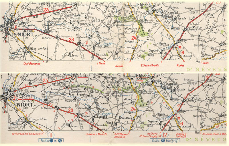 Carte Militaire Allemande Ww2.Les Cartes Michelin Pendant La Seconde Guerre Mondiale