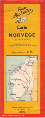 ww2 norvegian map 1940