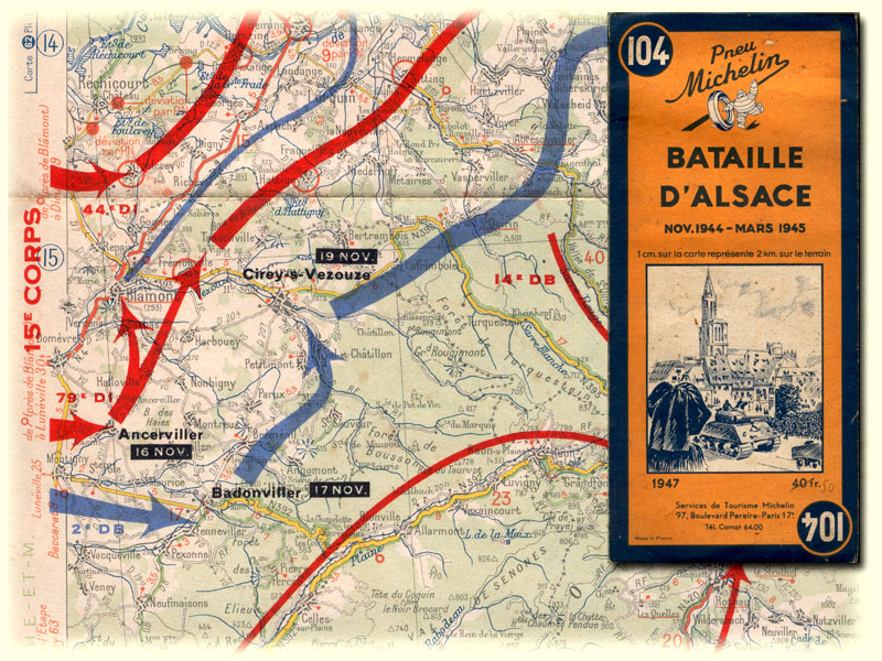 michelin map battle of alsace