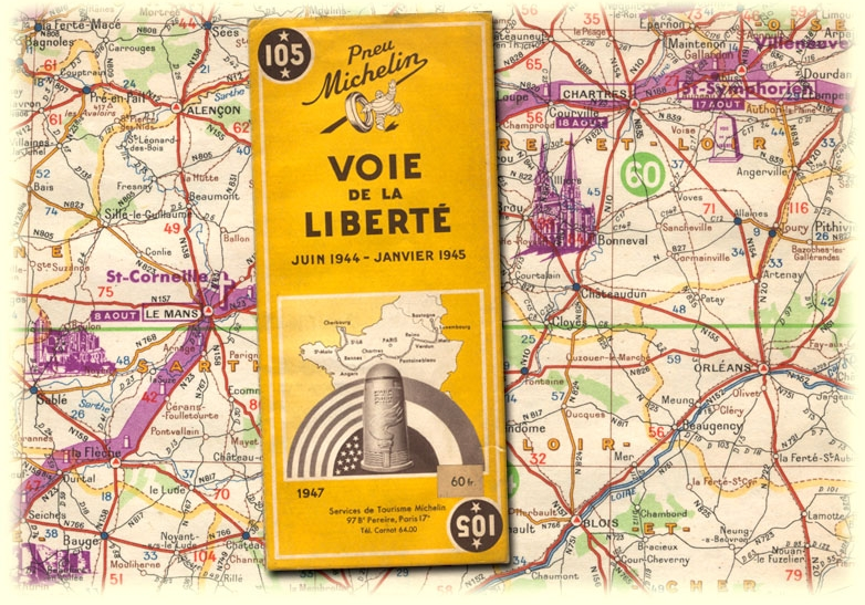 michelin map road to liberty