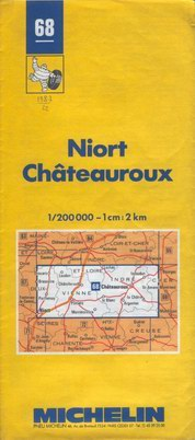photo carte Michelin 1986 à 1989