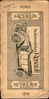 michelin map back cover 1912