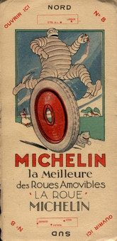 Michelin map back cover 1920
