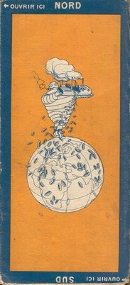 Michelin map back cover 1924